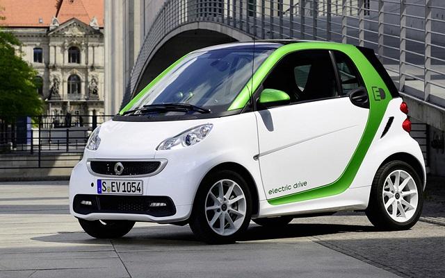 Smart ForTwo ED версия 2013 года