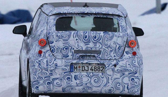 BMW i3 вид сзади