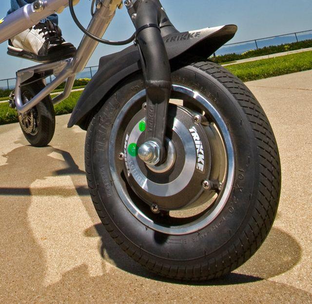 Мотор-колесо Trikke Tech Tribred PON-E Hybrid