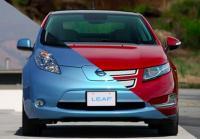 Chevrolet Volt и Nissan Leaf