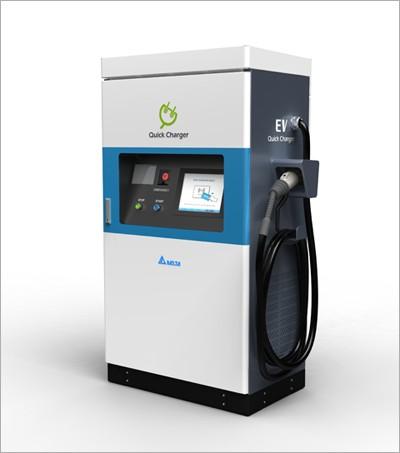 Высокоэффективные станции быстрой зарядки для электромобилей Delta Electronics