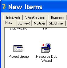 Resource DLL Wizard Delphi